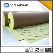ROSH Certificate High Quality High Temperature PTFE Teflon coated fiberglass fabric with silicone adhesive