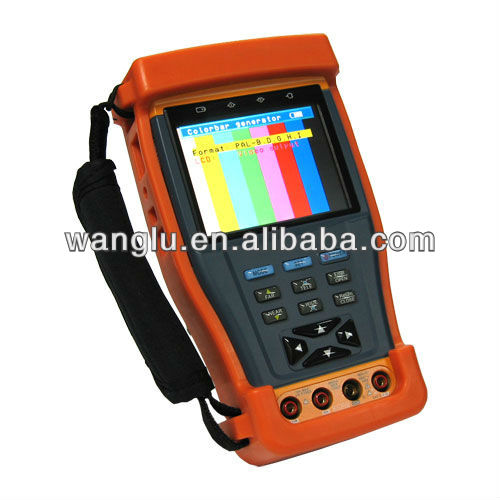 3.5-Inch TFT LCD CCTV TESTER PRO With High Stability Digital Multimeter