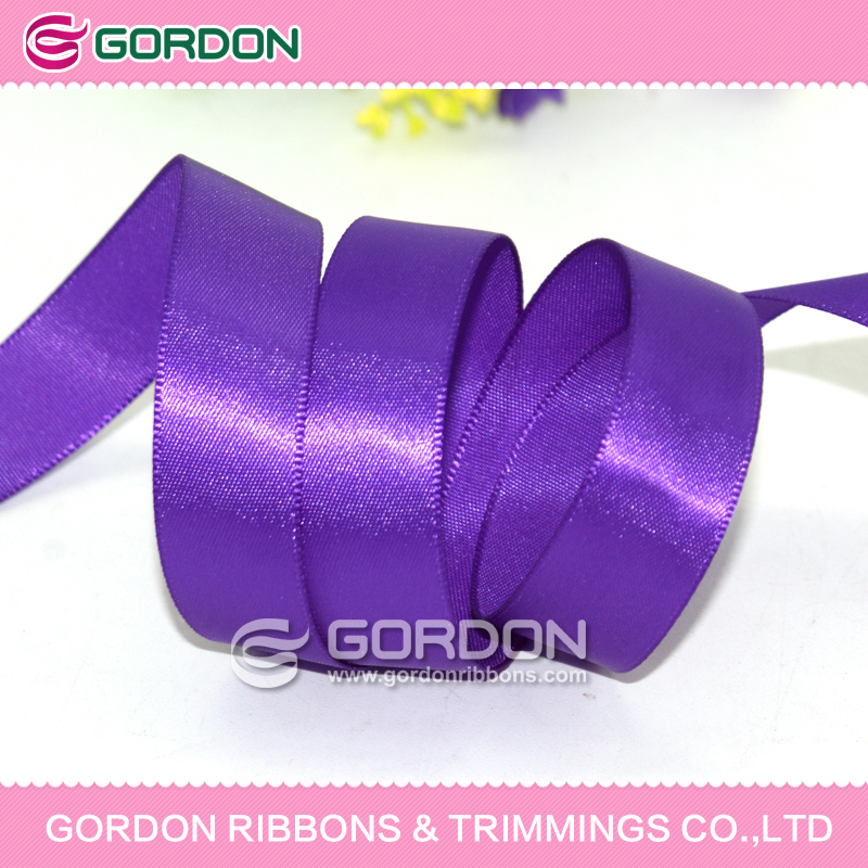 wholesale custom award ribbons, smooth face satin ribbon