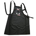 washable printed cotton apron