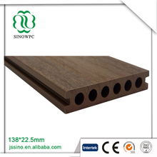 international verbreitet product Co-extrusion floor composite decking wood