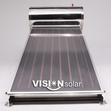 Thermosiphon Compact Solar Water Heater Flat Panel Collector