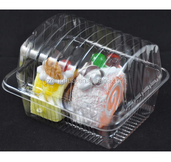 plastic food grade PET birthday cake packaging