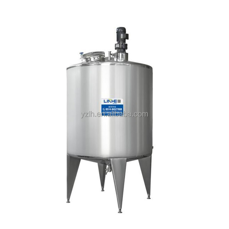 High Quality Stainless Steel Chemical Agitator Tank