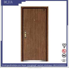single fully insulated fireproof wooden doors(1.5h)