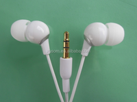 Colorful fashional and comfortable 10cm wire earphone & headset