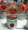 Custom Made Glass Heart Shaped Gift Snow Globe