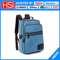 China supplier wholesale price custom canvas bag backpack