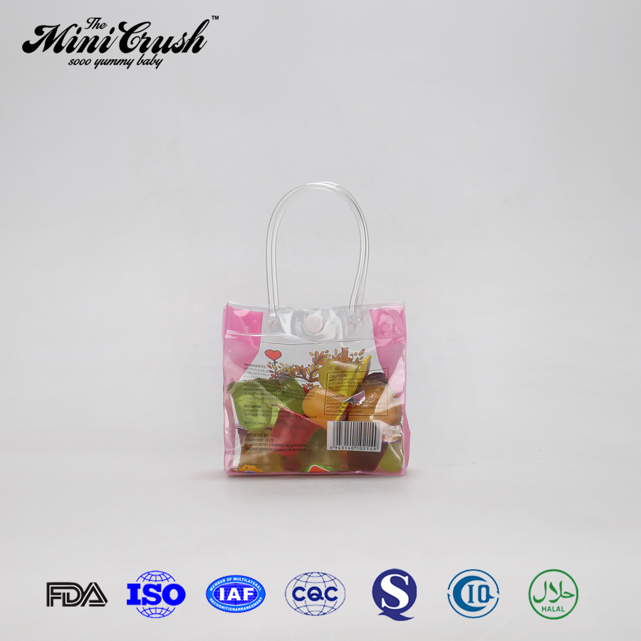 Using natural raw materials health food assorted mini fruity gels jelly