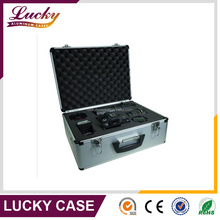 Aluminum frame case with camera