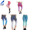 Colorful Capri Yoga Leggings for Women