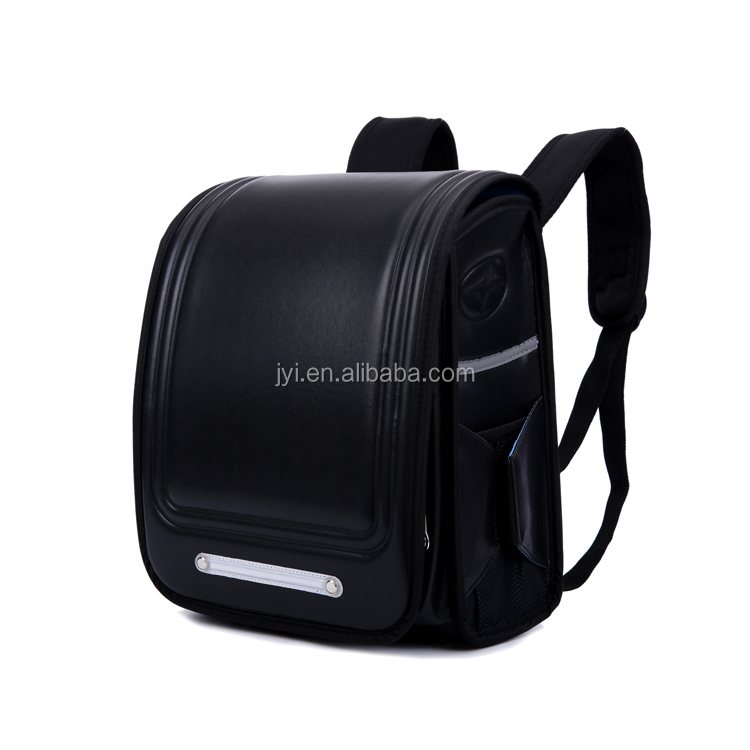 Top quality PU leather Primary School Bag 1-6 grade Backpack Students for Japan Children