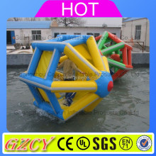 2016 Funny Inflatable Water Wheel Used In Swimming Pool