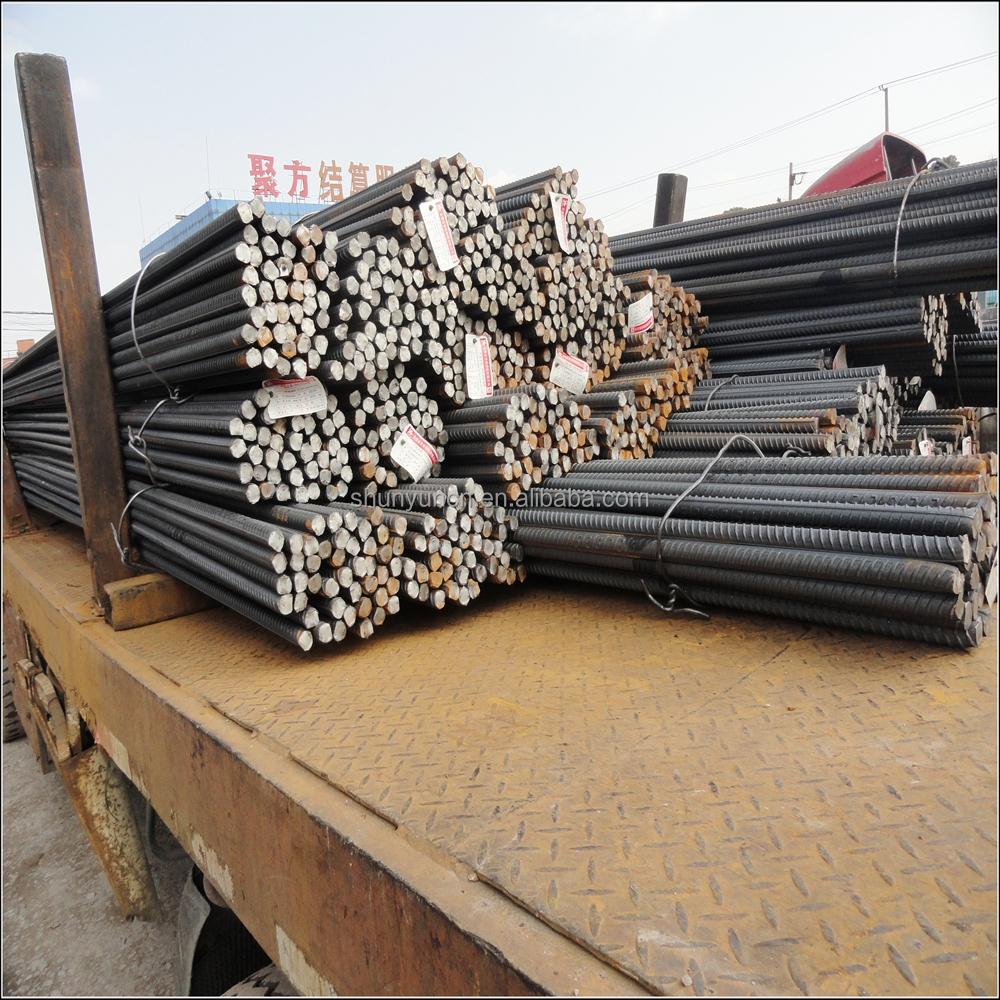 HR rebar HRB500 diameter 25mm From Shanghai steel supplier with SGS certification