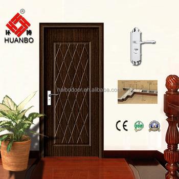 2015 cheap hdf mdf pvc door interior antique carved doors for Cheap pvc door