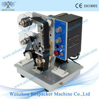 Electrical expiry date printing machine for plastic bag