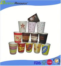Disposabel microwaveable coffee cups
