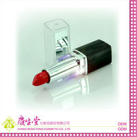 LED light Lip Stick with mirror OEM(Taiwan cosmetic manufacturer)