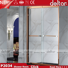 8mm GlassHotel Batrhroom design shower sliding door/room/cabin/encloser