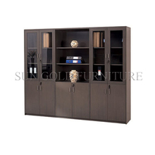 New wood design the bookshelf executive storage office filing cabinet(SZ-FCT601)