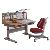 Ergonomic Children study table chair