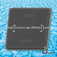 1150*1150-60 SMC Watertight inspection hole Manhole cover set A15 /composite manhole cover /Square manhole cover