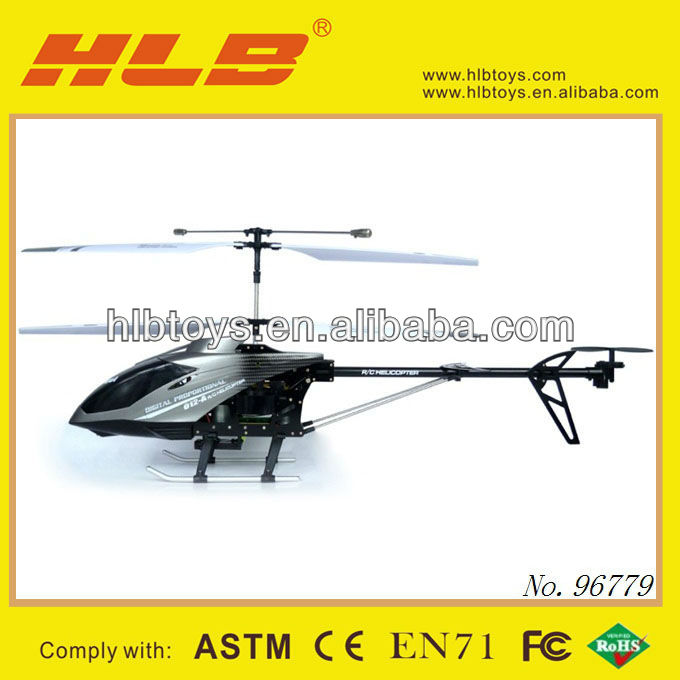High Speed 3.5CH rc helicopter Dual Rotor with gyro and led screen cx012