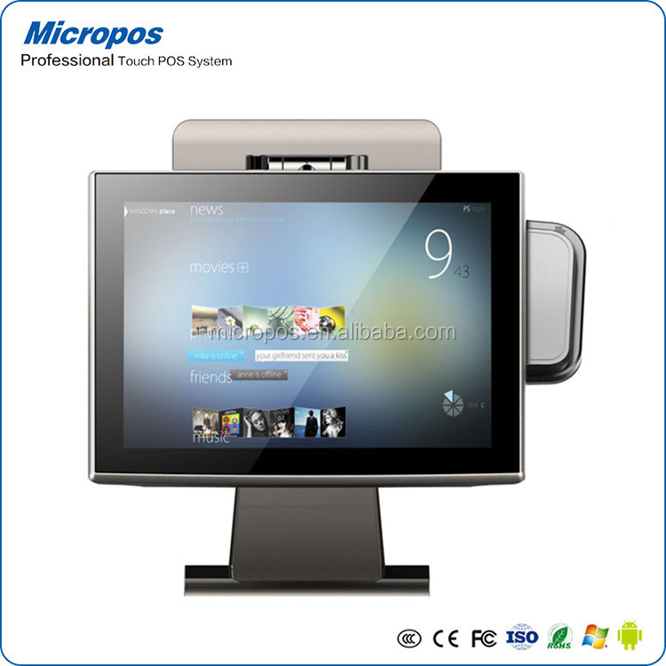 Micropos 15 inch windows Tablet cheap cash register for sale