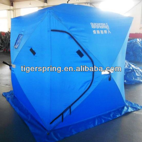 high quality pop up ice fishing tent made of 600D Oxford