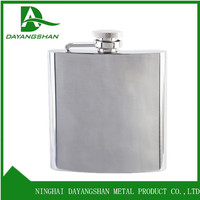 Outdoor Pocket Size Whisky Flagon Mirror