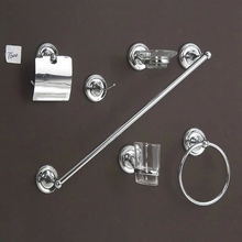 Wall Mounted zinc alloy bathroom accessories sets, bathroom sanitary fittings, bath hardware set