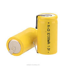 EWT Professional high temp ni cd battery nicd sc 1300mah rechargeable battery 1.2v for emergency light