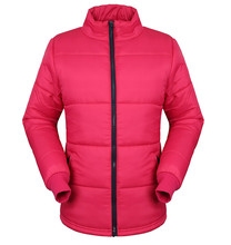 customize winter women's quilted jacket