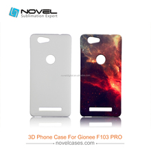 Custom Design For Gionee F103 PRO Sublimation 3D Blank Mobile Phone Cover Case
