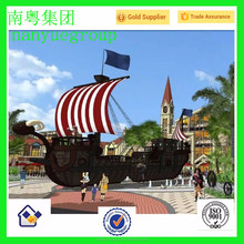 theme park pirate ship decoration model by Nanyue sculpture promotion sell