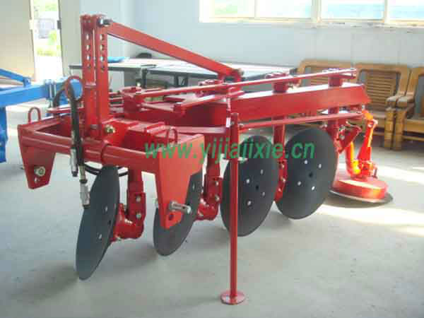 land plowing machine disc plough