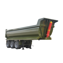 china cheap U type dump semi trailer for sale