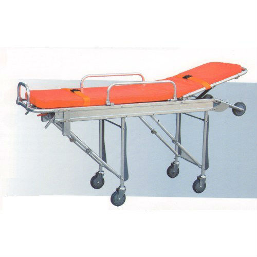 Aluminum Alloy Folding Hospital Ambulance StretcherTrolley
