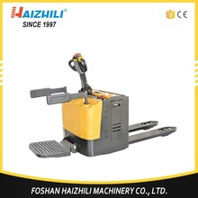 Warehouse Industrial Electric Pallet Truck Stacker, Small Forklift electric Lift Truck Part For Sale