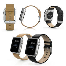 USAMS Genuine leather watch strap for Apple Watch, for apple watch 38mm/42MM strap