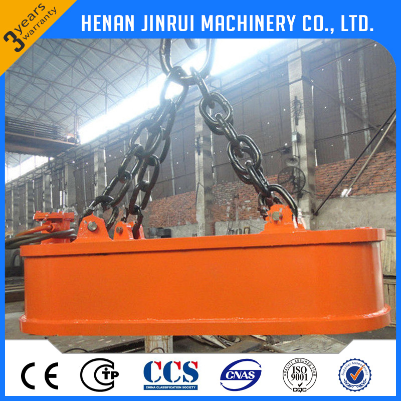 Steel Scrap Bar Electromagnet Chuck Magnetic Lifter