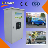 1.6KW 80 bar Coin/card operated self service car wash equipment/self-service kitchen pipe cleaner