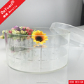 Round Flower Box For Gift / Deluxury Rose Box