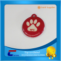 Epoxy NFC tags hard plastic RFID tags shaped pet ID tags