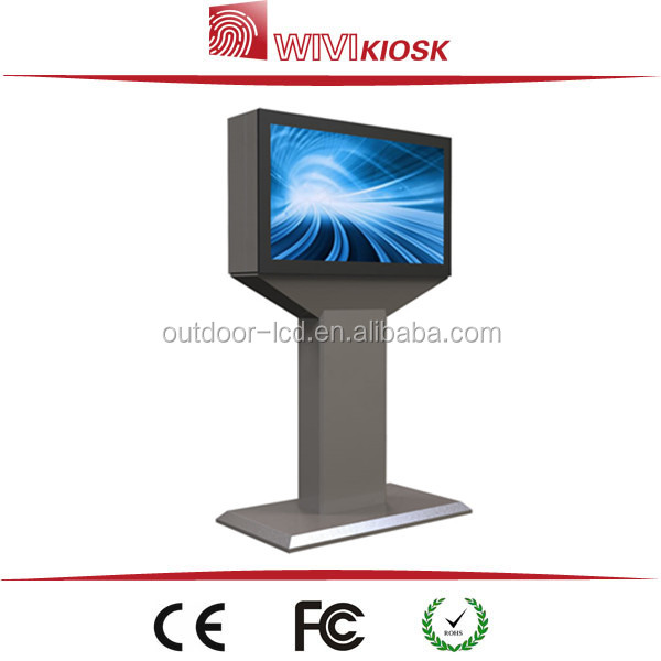 42 inch touch screen kiosk,custom lcd and touch screen advertising player