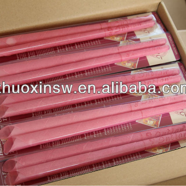 factory supply india ear candle with perfect packaging