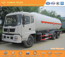 Dongfeng 6x4 mobile gas refueling trucks/mobile gas station/dongfeng LPG tanker truck capacity 25000L