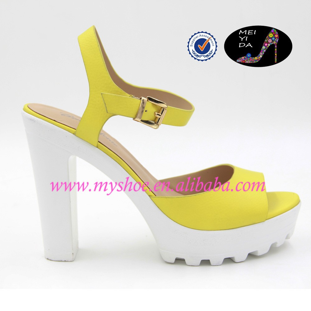8cm high heel shoes high quality ladies sandal shoes