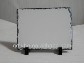 sublimation slate photo/sublimation stone photo/Rock Photo Frame