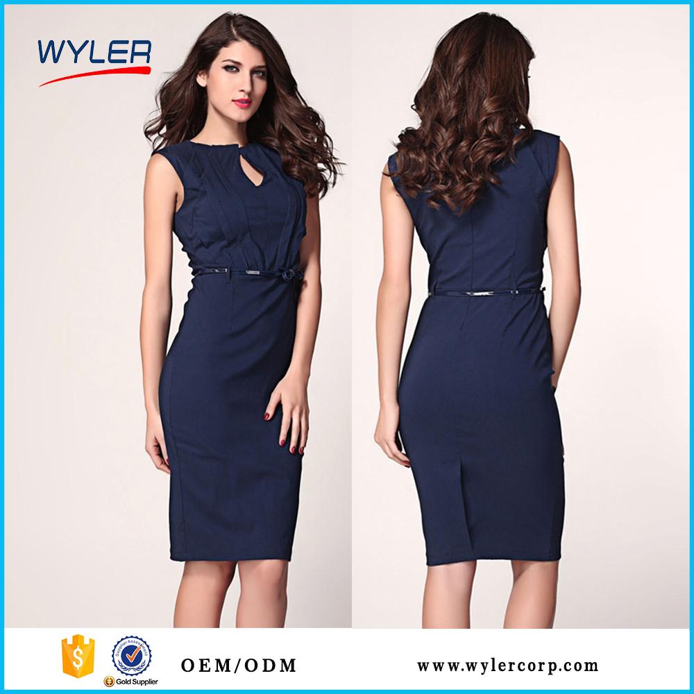 2016 Slim Office New Fashion Dress Lady Dress View Lady